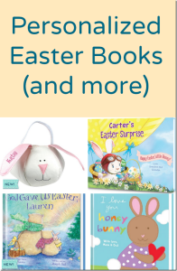 Personalized Easter Books and More