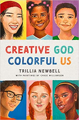 A book review of Creative God Colorful Us by Trillia Newbell